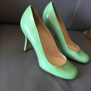 Kate Spade Heels - Mint